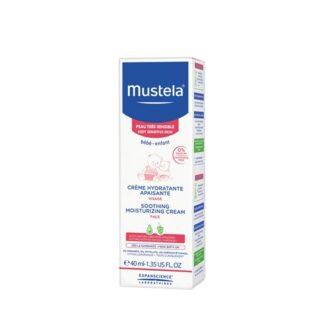 Mustela Creme Hidratante Calmante Rosto S/Perfume 40ml,creme de rosto hidratante sem fragrância certamente indicado para bebés e crianças, desde o nascimento.Textura fluida e fundente, ideal para o rosto.