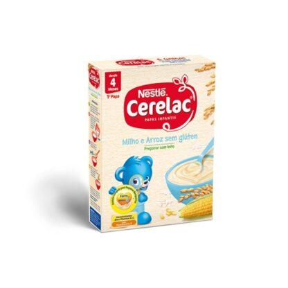 Nestlé CERELAC 1ª Papa Milho e Arroz 250gr PharmaScalabis