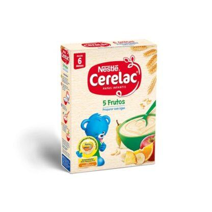 Nestlé CERELAC Farinha Láctea 5 frutos 250gr