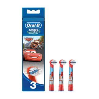 Oral-B Cars Cabeça para Escova Elétrica 3 Unidades