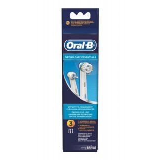 Oral-B Ortho Care Recarga Escova Elétrica Kit Ortodôntico