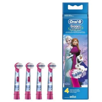Oral-B Stages Power Frozen Cabeça para Escova Elétrica 4 Unidades