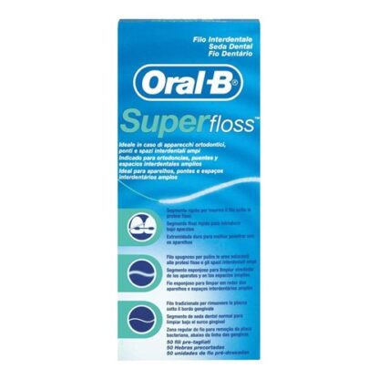 Oral-B SuperFloss Fio Dentário