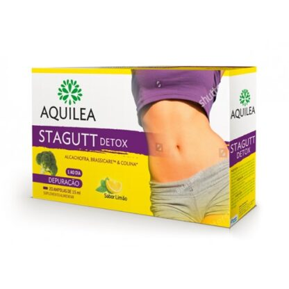 Aquilea Stagutt Detox 20 Ampolas PharmaScalabis