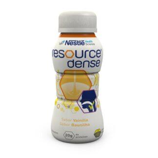 Nestlé Resource Dense Baunilha 4x200ml, alimento dietético para fins medicinais específicos.