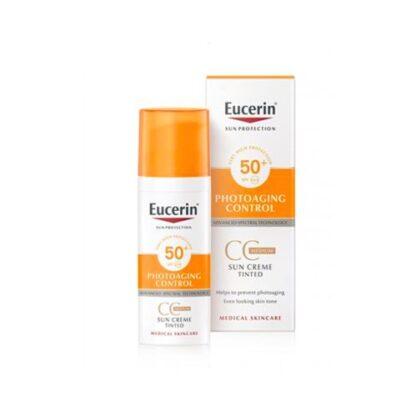 Eucerin Photoaging Control CC Creme Solar SPF 50+ Médio 50ml
