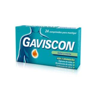 Gaviscon Sabor Menta 24 Comprimidos Mastigáveis