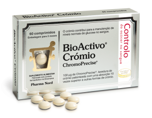 BioActivo Crómio 60 Comprimidos