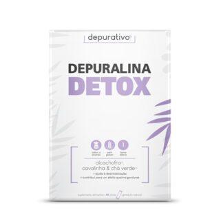 Depuralina Detox 10 Sticks é um suplemento alimentar, especialmente indicado para desintoxicação que contribui para um efeito queima gorduras.