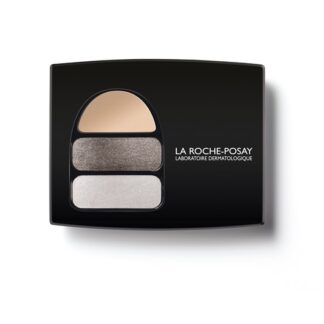 La Roche Posay Respectissime Ombre Douce Paleta 01,uma paleta de sombras para os olhos que combina uma base fixadora suave, para iluminar as pálpebras mais sensíveis e um duo de sombras, para um efeito vibrante adaptado a cada cor de olhos.