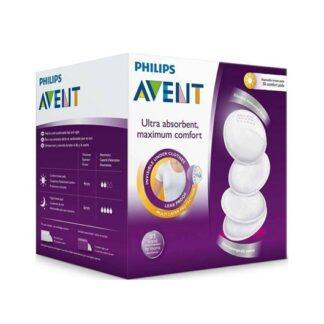 Philips Avent Ultra Confortável Discos Amamentação 60 discos
