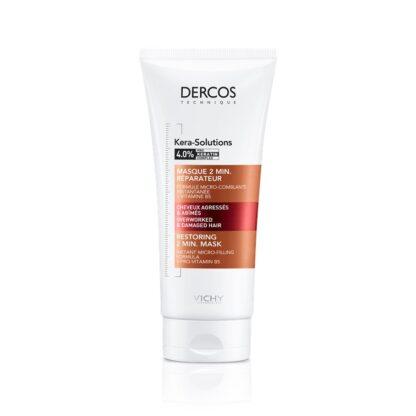 Vichy Dercos Technique Máscara Kera-Solutions 200 ml, a Máscara 2min. Reconstituinte Kera-Solution