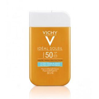Vichy Idéal Soleil Fluido Hidratante e Fresco SPF50 30 ml