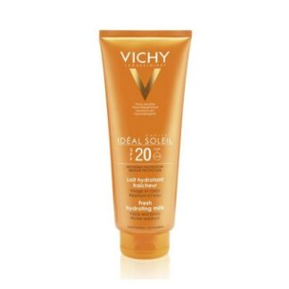 Vichy Idéal Soleil Leite Protetor Hidratante Rosto e Corpo SPF20 300ml PharmaScalabis