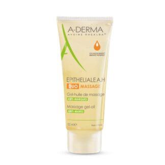 O gel-óleo para massagem A-Derma Epitheliale AH Duo Gel-Óleo de Massagem atenua a aparência das marcas na pele, e acalma de forma imediata e duradoura. Graças à sua textura evolutiva única patenteada*, favorece a massagem remodelando as cicatrize