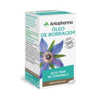 Arkocápsulas Óleo Borragem 50 Cápsulas é um suplemento alimentar destinado à manutenção da beleza da pele.