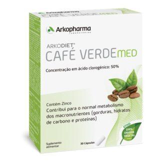 Arkodiet Café Verde é um suplemento alimentar à base de extrato de Café Verde e Zinco.