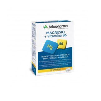 Arkopharma Magnésio + Vitamina B6 30 Cápsulas