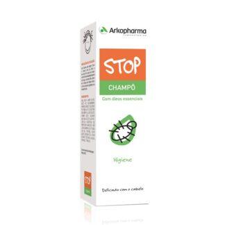 Arkopharma Stop Piolhos Champô 125ml, a fórmula do STOP PIOLHOS® CHAMPÔ enriquecida com óleos essenciais de Rosmaninho, Alfazema e Gerânio, assim como, 4-terpineol, um ativo proveniente do óleo essencial da Árvore do chá, limpa em profundidade, proporcionando suavidade ao cabelo. Devido à suavidade dos seus ingredientes, pode ser utilizado diariamente.