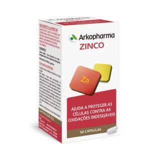 Arkovital Zinco contém zinco, um mineral que contribui para a proteção das células contra as oxidações indesejáveis, para o normal funcionamento do sistema imunitário e para a manutenção de uma visão normal.