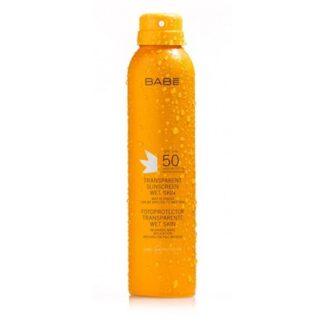 Babé Solar Fotoprotetor Transparente Wet Skin SPF50