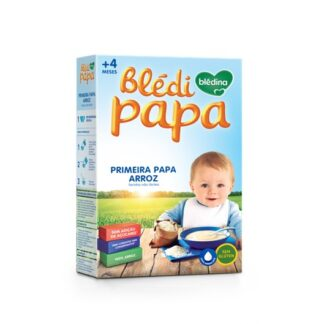 Blédipapa Primeira Papa Arroz