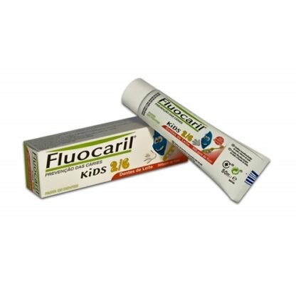 Fluocaril Kids Pasta de Dentes Morango 50ml