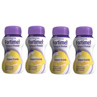 Fortimel Compact Protein Banana 4x125ml