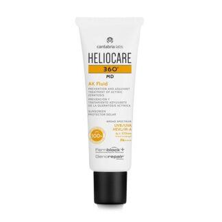 Heliocare 360 MD AK Fluido 100+ 50ml, fluido ideal para a prevenção e cuidado adjuvante de queratoses actínicas e outras formas de cancro de pele não melanoma.