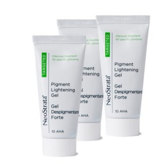 Neostrata Pack Gel Despigmentante Forte 3x30ml,redução de hiperpigmentações (melasma, cloasma, efélides, lentigos solares e senis, hiperpigmentações pós-inflamatórias).