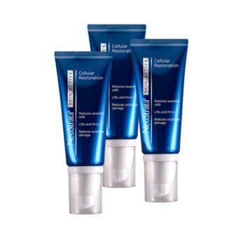 Neostrata Skin Active Celular 50g, creme de noite de alta performance formulado com ingredientes específicos para a regeneração das células essenciais da pele, o fortalecimento da matriz cutânea profunda e a redução do dano oxidativo. A pele torna-se mais firme, elástica e luminosa. Todos os tipos de pele.