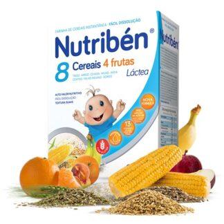Nutribén 8 Cereais 4 Frutas Láctea 300gr