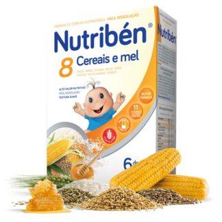 Nutribén 8 Cereais e Mel 300gr