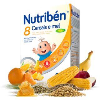 Nutribén 8 Cereais e Mel 4 Frutas Não Lácteo 300gr