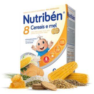 Nutribén 8 Cereais e Mel Bolacha Maria 300gr