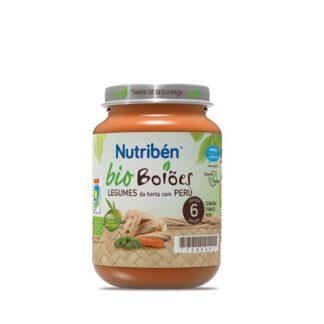 Nutribén BioBoiões Legumes da Horta com Peru 200 gr