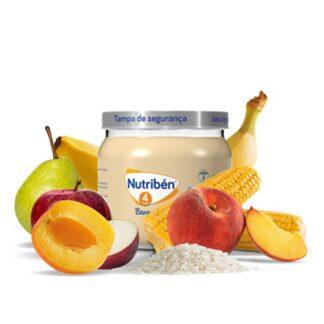 Nutribén Boião 6 frutas com Cereais 120gr