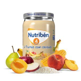 Nutribén Boião 6 Frutas com Cereais 235gr