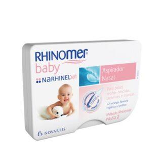 Rhinomer Baby Narhinel Soft Aspirador Nasal + Recargas Pharmascalabis