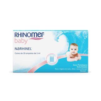 Rhinomer Baby Narhinel Soro Fisiológico 20 Monodoses PharmaScalabis