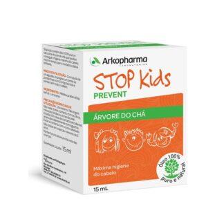 Arkopharma Stop Kids Prevent Árvore Chá 15ml, contém óleo 100% puro e natural de Árvore do Chá que ajuda a obter a máxima higiene do cabelo ao mesmo tempo que o revitaliza e o deixa brilhante.