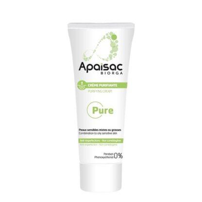 Apaisac Biorga Pure Creme Purificante 40ml PharmaScalabis