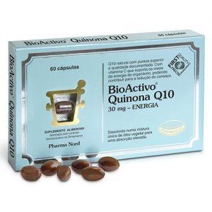 BioActivo Quinona Q10 30mg 60 Cápsulas