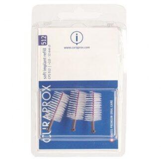 Curaprox Escovilhão CPS 512 3 Escovilhõespara uso diário e limpeza cuidada e efectiva dos espaços interdentários, para uma limpeza completa da cavidade oral.