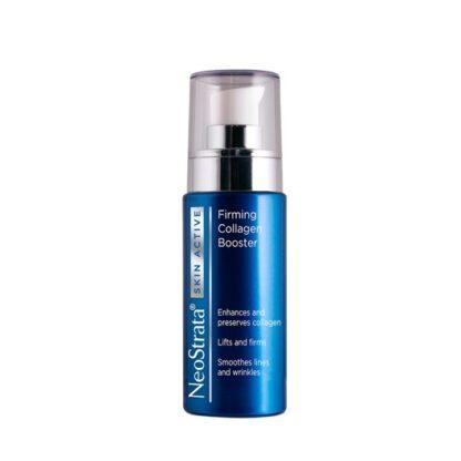 Neostrata Skin Active Colagénio 30ml, serum de alta performance formulado com ingredientes específicos que atuam sinergisticamente para a preservação e reconstrução da matriz extracelular, aumentando a firmeza da pele.