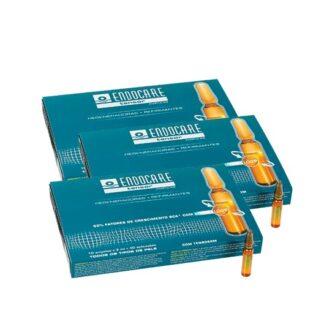 Endocare Pack Tensor Refirmantes 3x10 Ampolas, altamente concentradas super-intensivas, refirmantes e redensificantes que hidratam, refirmam e conferem um efeito tensor imediato à pele.