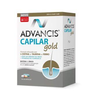 Advancis Capilar Gold 30+30 Cápsulas