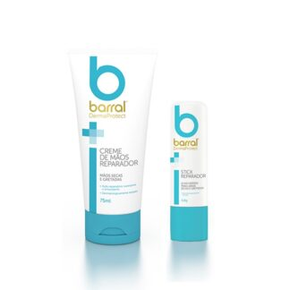 Barral Dermaprotect Creme Mãos 75ml + Stick Reparador 4.8g