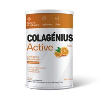 Colagenius Active Laranja Pó 345 g,é uma fonte de alta riqueza que preserva os níveis de colagénio no corpo