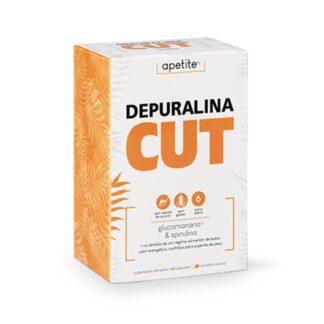Depuralina Cut 84 Cápsulas é um Suplemento Alimentar à base de: Glucomanano, Spirulina, Cáscara Sagrada e Crómio.